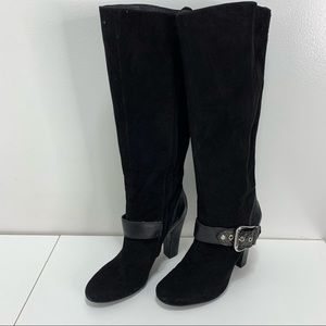 BCBG Tall Leather Boots